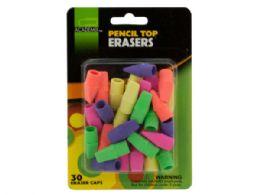 72 of Pencil Top Erasers Set