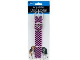 72 of Pink Fashion Adjustable Nylon Dog Collar