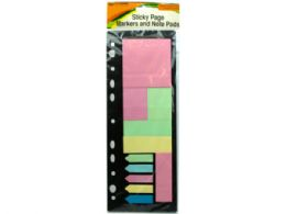 72 of Sticky Page Markers And Note Pads