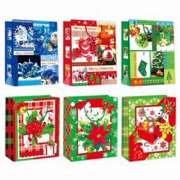 96 of Gift Bag Xmas Three Pack Small