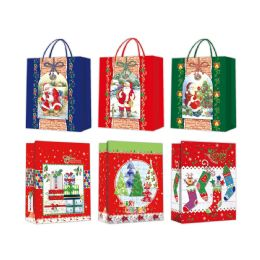 96 of Gift Bag Xmas Three Pack In Small