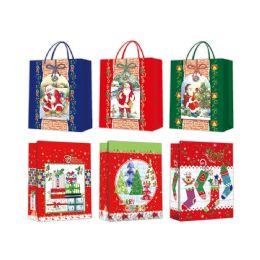 96 of Gift Bag Xmas Size Large