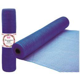 96 of Tulle Fabric Roll Dark Blue