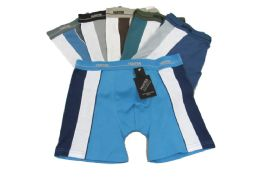 144 of Mens Cotton Boxer Briefs In S-xl