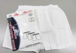 72 of Men White Woven Boxer Shorts