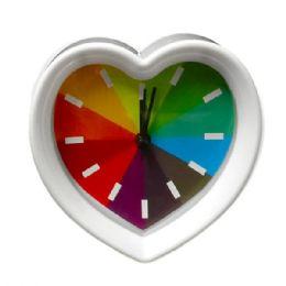 6 of Rainbow Heart Design Clock