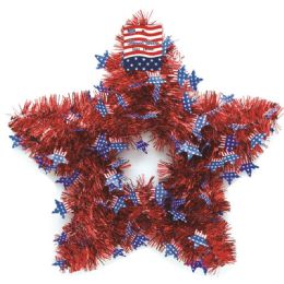 36 of July Fourth Tinsel Decoration