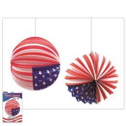 120 of America Usa Flag Lantern