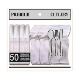 96 of Fifty Count Clear Cutlery