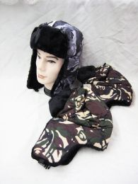 36 of Winter Camo Print Pilot Hat