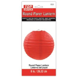 96 of Nine Inch Paper Lantern Red