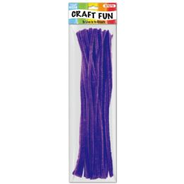 144 of Forty Count Tinsel Stems Dark Purple