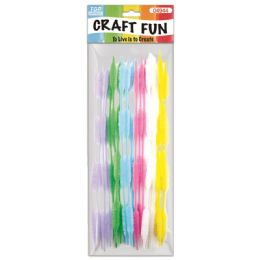 144 of Twenty Count Chenille Stems Light Colors