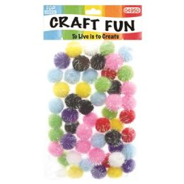 144 of Fuzzy Ball Craft Fifty Pack