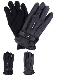 36 of Men Winter Ski Glove With Zipper And Fleece Lining