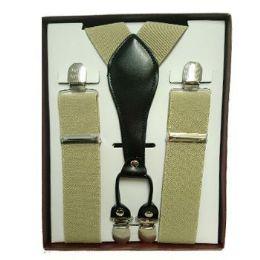 36 of Solid Khaki Suspenders