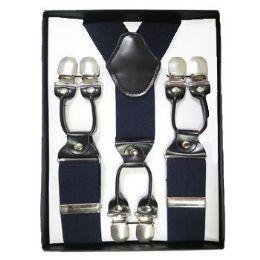24 of Solid Suspenders Navy