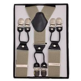 24 of Solid Suspenders Khaki