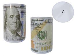 24 of Jumbo U.s. Dollar Tin Saving Bank