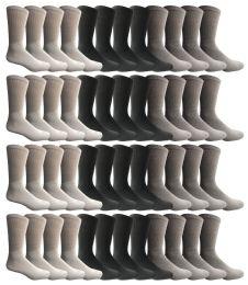 1800 of Yacht & Smith Kids Sports Crew Socks, Wholesale Bulk Pack Athletic Sock Size 6-8