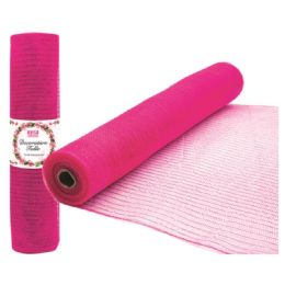 96 of Tulle Fabric Roll Hot Pink