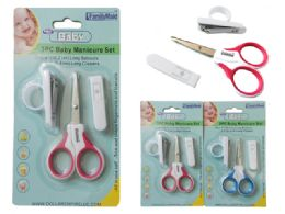 144 of 3pc Baby Manicure Set