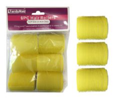 96 of 6 Piece Cling And Foam Hair Rollers