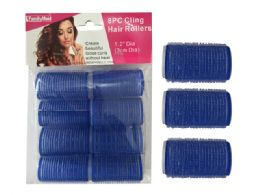 96 of 8 Piece Cling Hair Rollers
