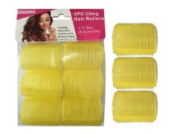 96 of 6 Piece Cling Hair Rollers