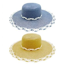 48 of Ladys Summer Hat With Flower