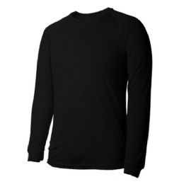 60 of Long Sleeves Black T Shirts