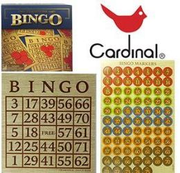 24 of Cardinal Bingo Sets