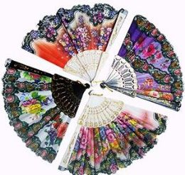 120 of Floral Folding Hand Fans