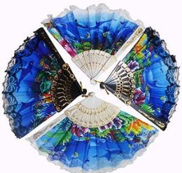 120 of Dolphin Folding Hand Fans