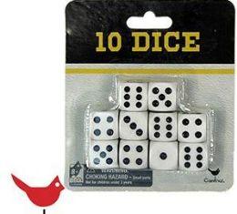 48 of Cardinal Ten Pack Gaming Dice