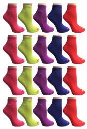 60 of SOCKS'NBULK Womens Cushion Athletic Performance Socks, Neon Sport Socks