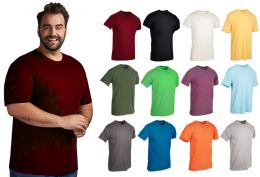 36 of Mens Cotton Short Sleeve T Shirts Mix Colors Size 2XL