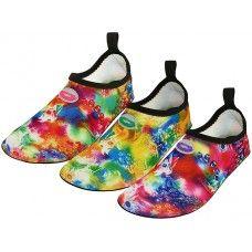 "36 of Women's ""wave"" Super Soft Elastic Nylon Upper Fantasy Printed Yoga Sock Water Shoes"