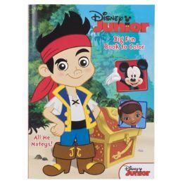 72 of Coloring Book Disney Jr. 96pgs In 24pc Display Box