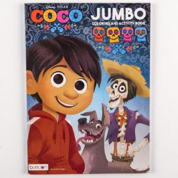 72 of Coloring Book Disney Coco 96 Pgs In 24 Pc Display Box