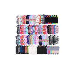 144 of Size 9 -11 Socks Women's Low Cut, No Show Footies