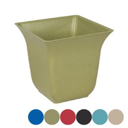 36 of Square Bamboo Planter With Fluted Top