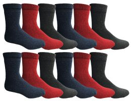 36 of Yacht & Smith Womens Wholesale Winter Thermal Crew Socks Size 9-11