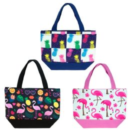 24 of Insulated Lunch Bag In 3 Assorted Styles