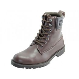"12 of Men's ""himalayans"" 6.5 Inches Insulated Leather Upper Boots"