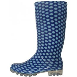 12 of Women's 13.5 Inches Water Proof Rubber Rain Boots