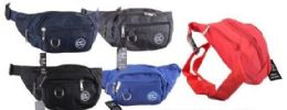 24 of Assorted colors Fanny Pack