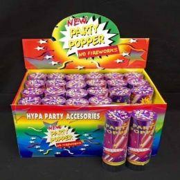24 of Confetti Party Popper