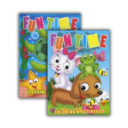 48 of Fun Time Coloring & Activity Books