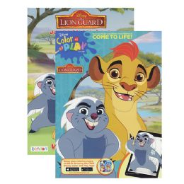 72 of Lion Guard Jumbo Coloring And Activity Book